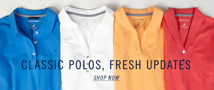 Polos Knit and Tops