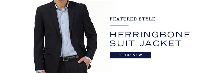 Herringbone Suite Jacket