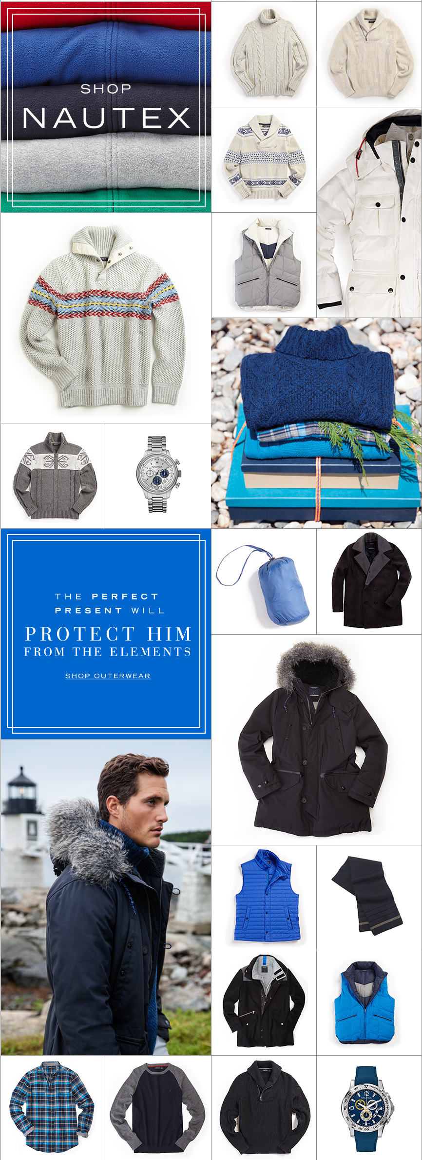 Gifts for Him - Blue Products List