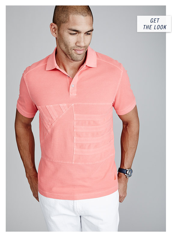 Sun Washed Polo Shirt