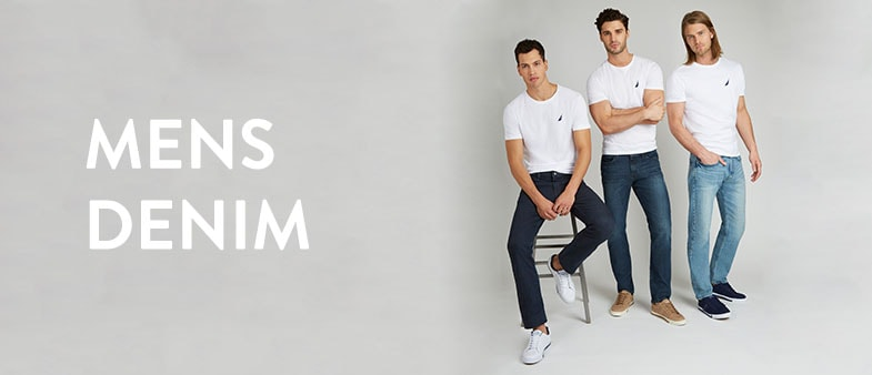 Mens Denim Banner