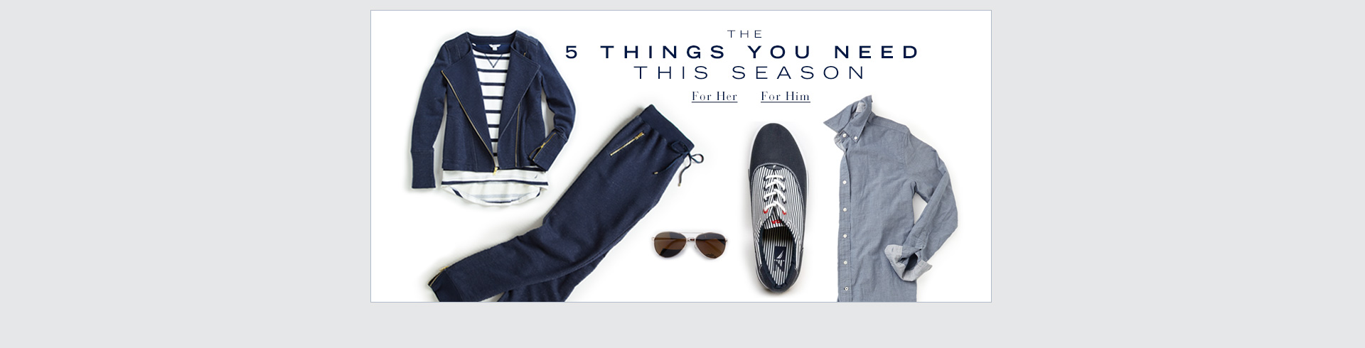 5 Things You Need This Season