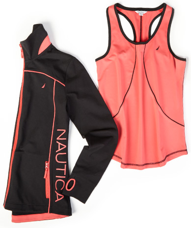Yoga Tank and Mock-Neck Yoga Jacket