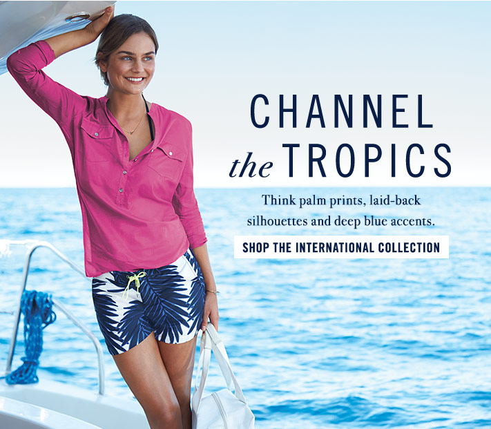 Channel The Tropics