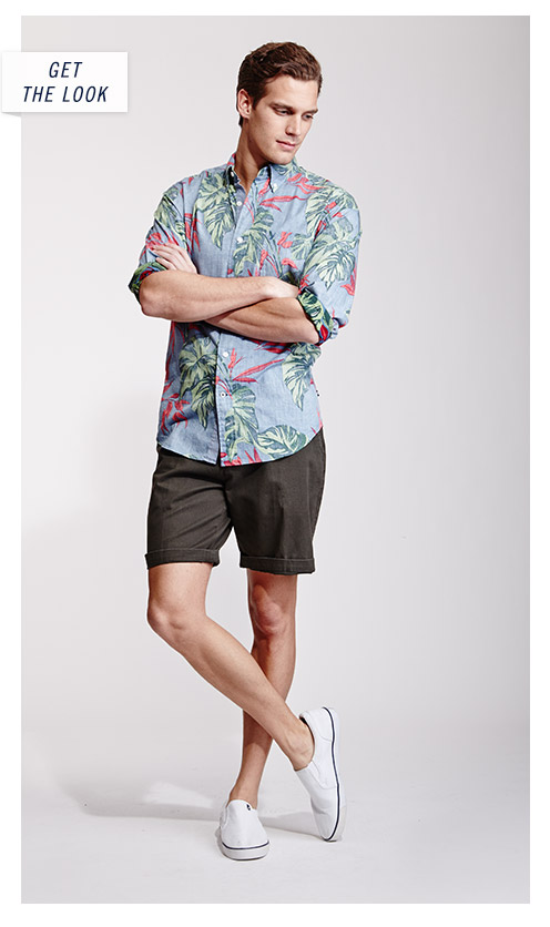 The Look - Palm Print Shirt