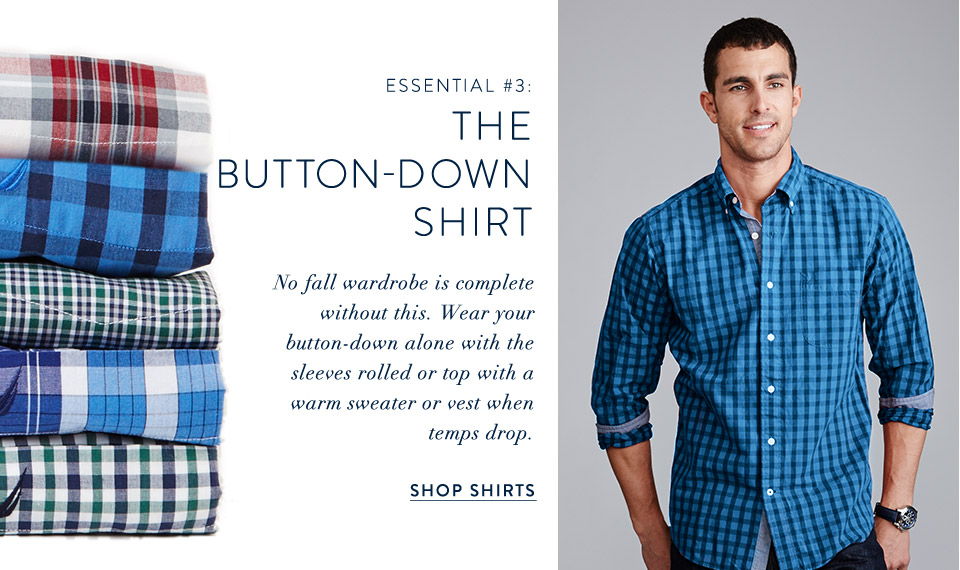 The Button-Down Shirt