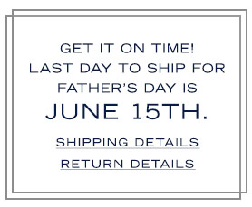 Shipping and Return Details