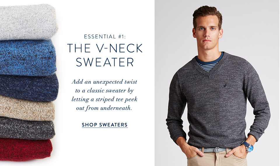 The V-Neck Sweater