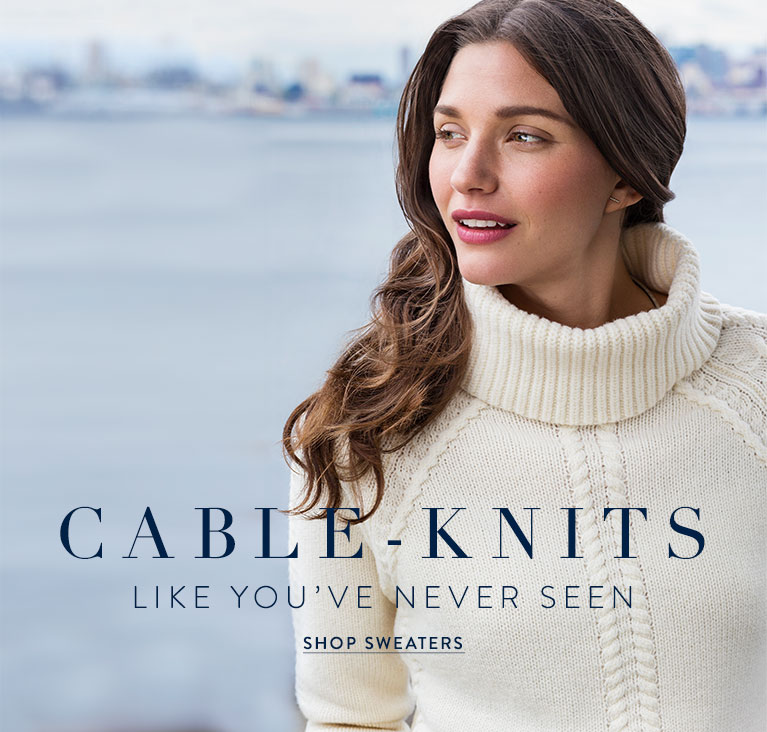 Cable Knits Sweaters