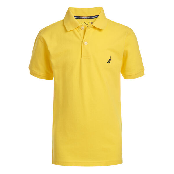 TODDLER BOYS' ANCHOR POLO (2T-4T) - Marigold