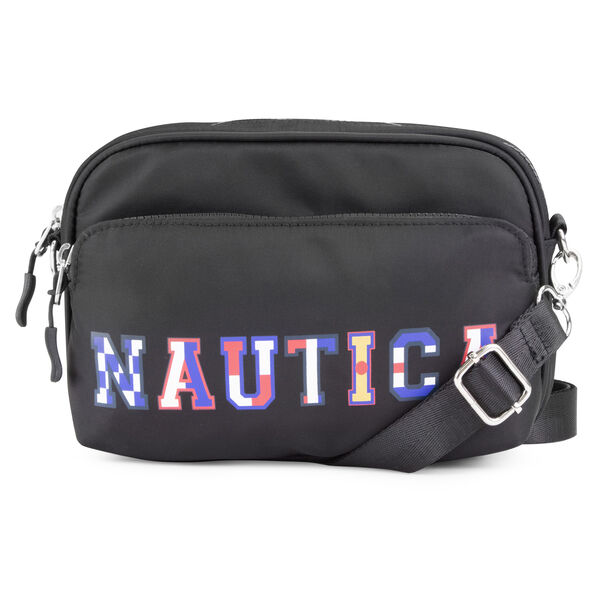 Varsity Convertible Crossbody - True Black