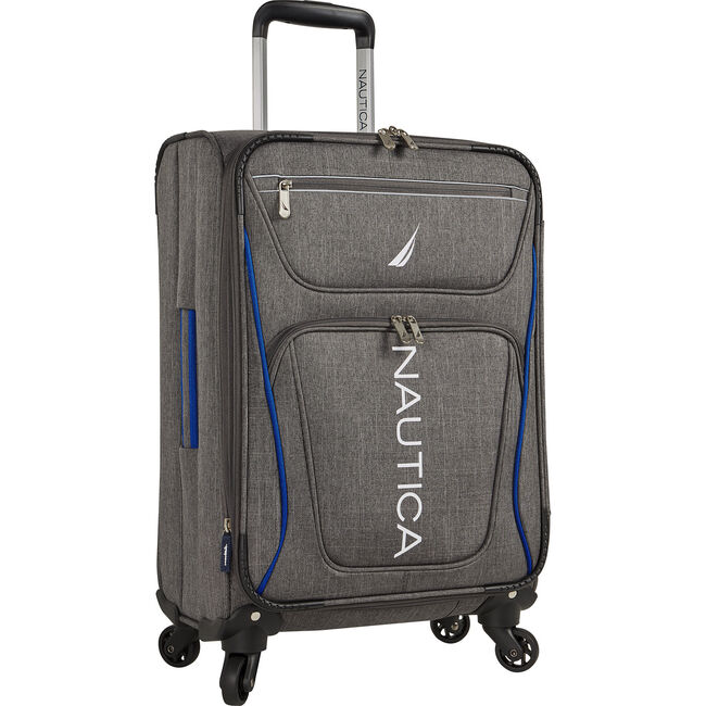 """Expeditor 17"""" Expandable Spinner Luggage,True Navy,large"""
