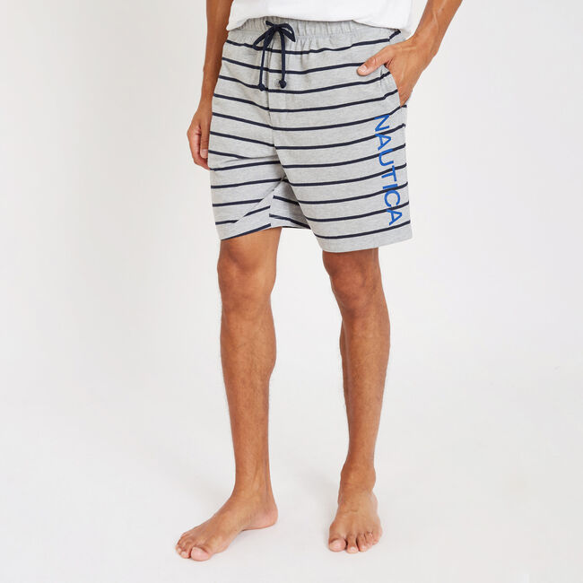 f20e975e5 Yarn Dyed Stripe Jersey Lounge Shorts
