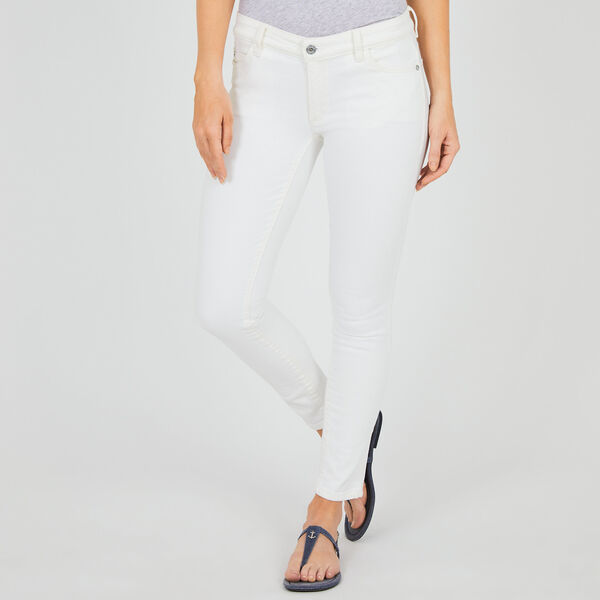 5-Pocket Skinny Jeans - Bright White