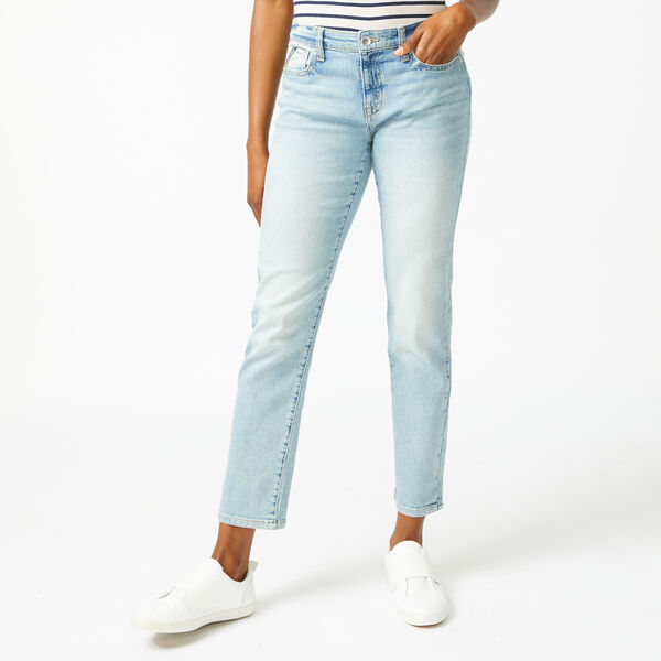 NAUTICA JEANS CO. MID-RISE STRAIGHT DENIM - Noon Blue