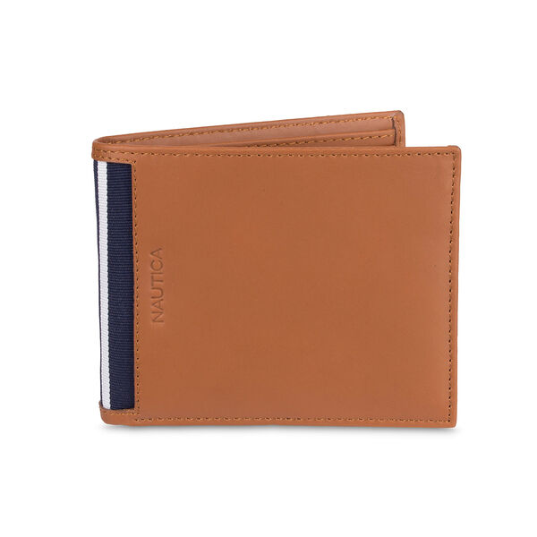 Knolls Removable Passcase Wallet - Oyster Brown