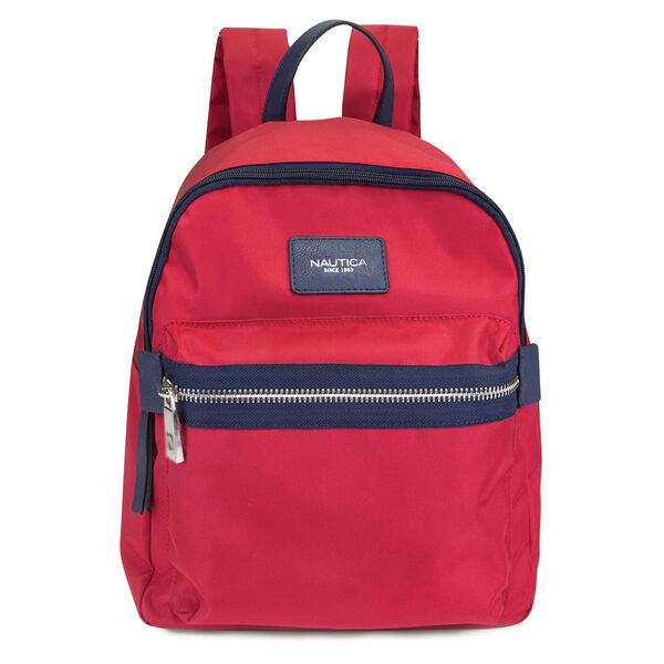 ARMADA NYLON BACKPACK - Nautica Red