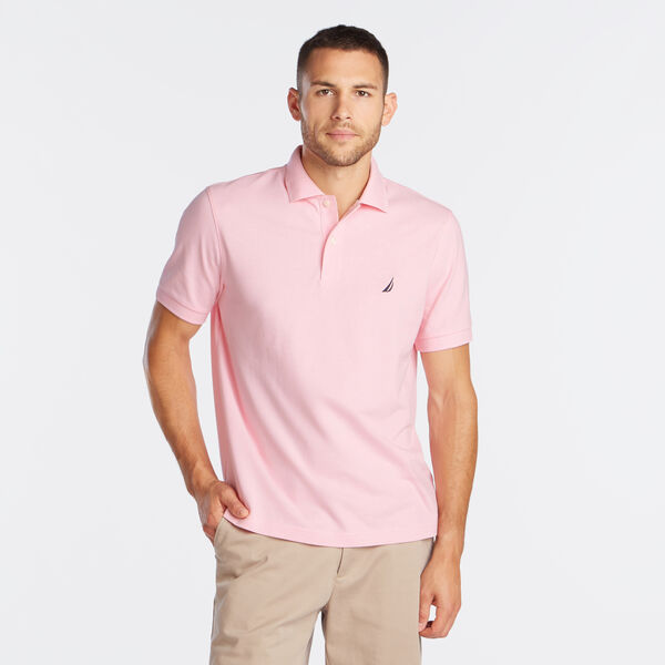 CLASSIC FIT DECK POLO - Orchid Pink