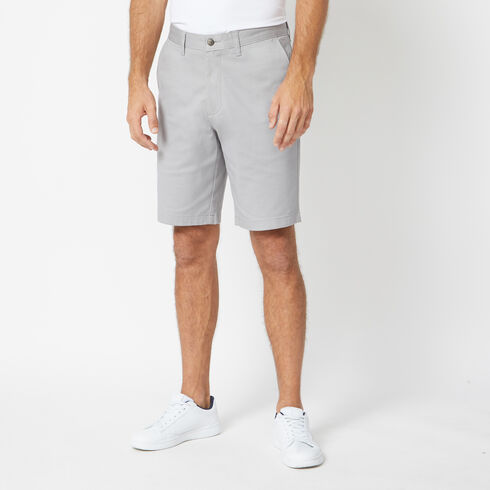 "Classic Fit Twill Deck Shorts - 10"" Inseam - Ocean/Graphite Heather"