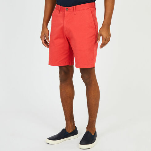 "Anchor Stretch Classic Fit Shorts - 8.5"" Inseam - Sailor Red"