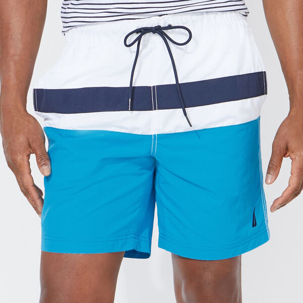"8"" COLORBLOCK SWIM SHORT - Hawaiian Ocean"