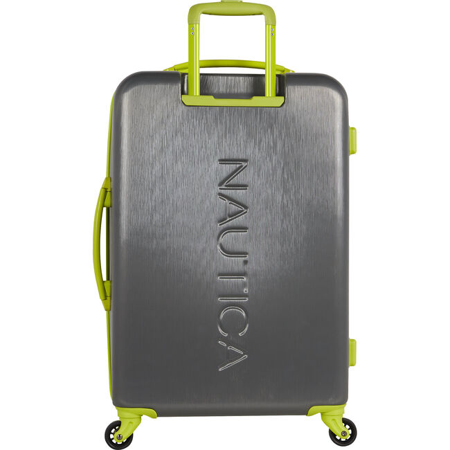 """Lifeboat 24"""" Expandable Spinner Luggage,Charcoal,large"""