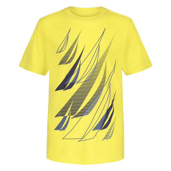 TODDLER BOYS' MULTIPLE J-CLASS GRAPHIC T-SHIRT (2T-4T) - Cabana Yellow
