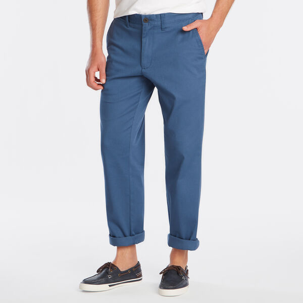 Classic Fit Flat Front Pant - Ensign Blue
