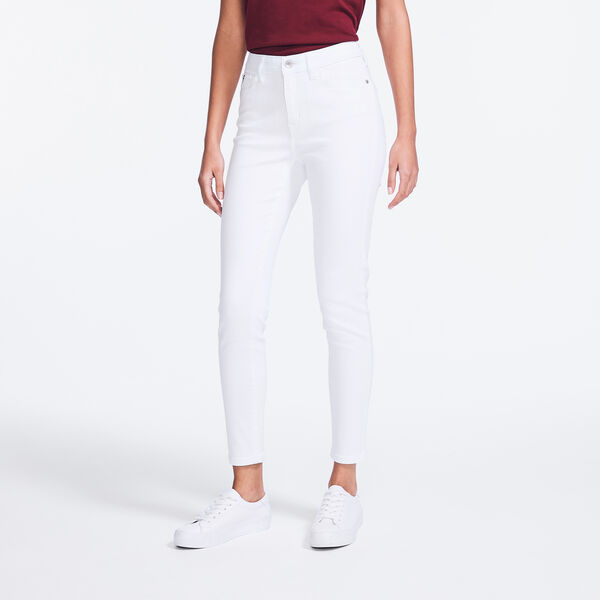 NAUTICA JEANS CO. MID-RISE SKINNY DENIM - Shell