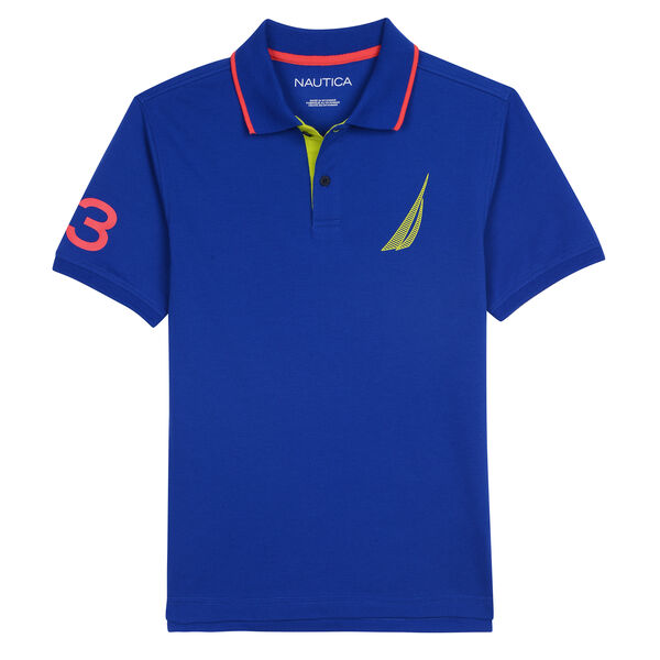 BOYS' JEFFERSON HERITAGE POLO - Imperial Blue