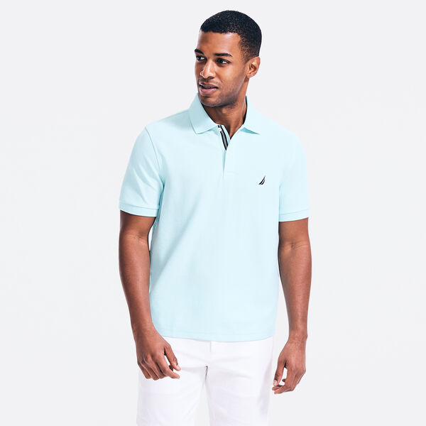 CLASSIC FIT PERFORMANCE POLO - Sapphire/Pitch Yellow