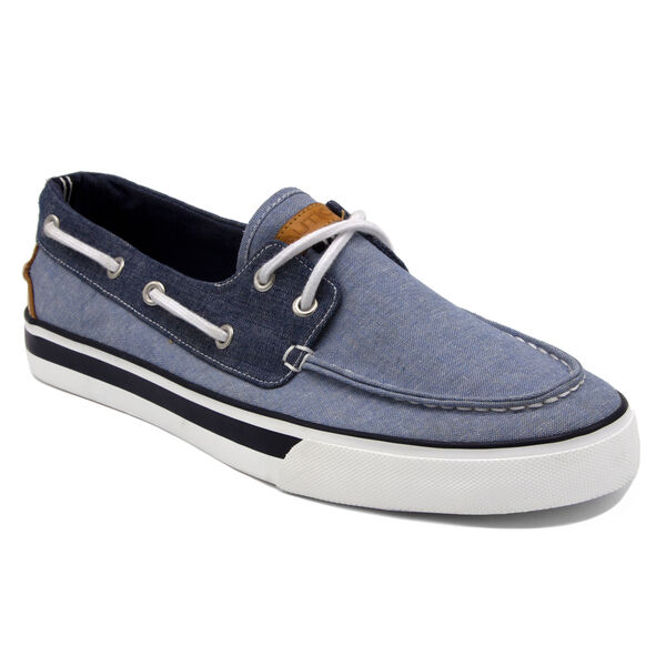 Galley Boat Shoe in Blue - Gulfcoast Blue Heather
