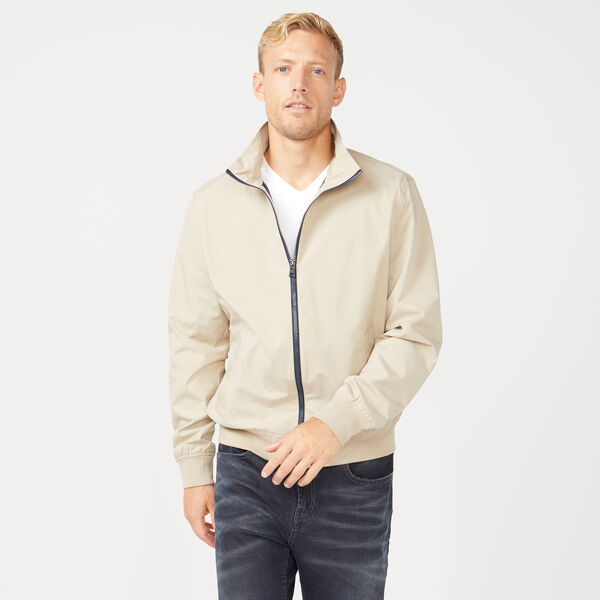 RAINBREAKER GOLF BOMBER - True Khaki