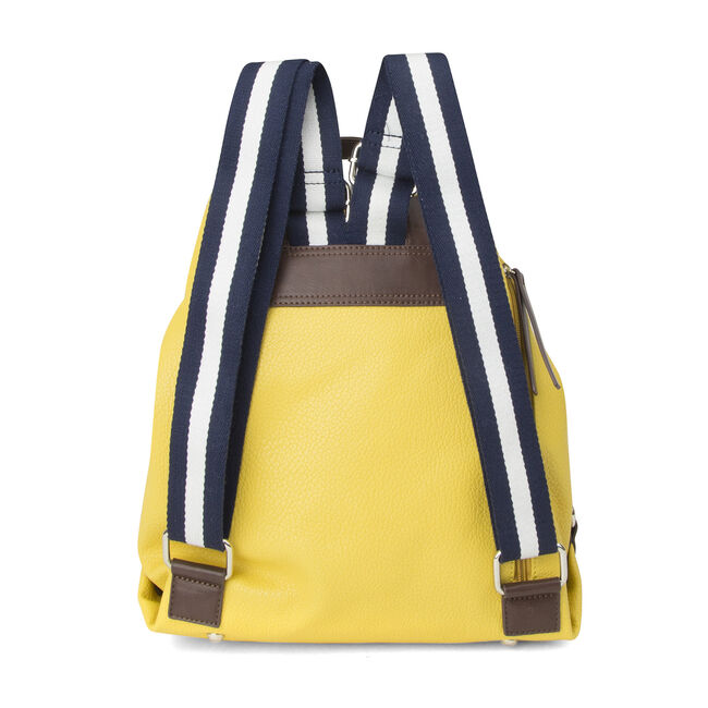 Trader's Cove Drawstring Backpack,Yellow,large