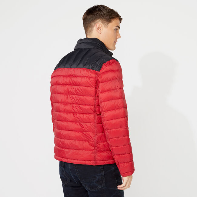 LIGHTWEIGHT TEMPASPHERE REVERSIBLE JACKET,Nautica Red,large