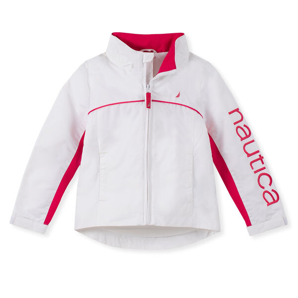 Little Girls' J-Class Jacket (4-7) - White