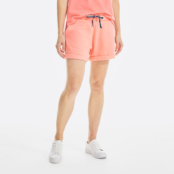 "SUSTAINABLY CRAFTED 4"" KNIT SHORT - Sugar Coral"