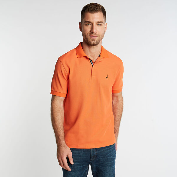 CLASSIC FIT PERFORMANCE MESH POLO - Rustic Sunset