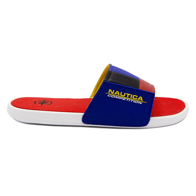NAUTICA COMPETITION SLIDE IN MULTI COLORBLOCK,Cool Breeze,large