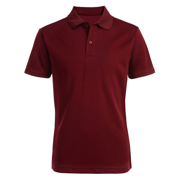 BOY'S HUSKY PERFORMANCE POLO (8H-20H) - Classic Red