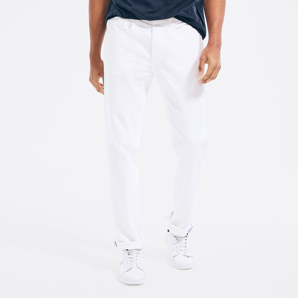 STRAIGHT FIT DENIM - Bright White