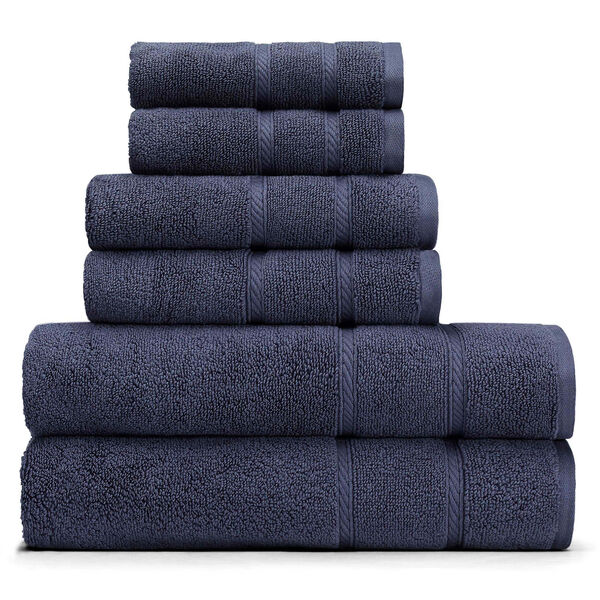 Belle Haven Towel Set - Navy
