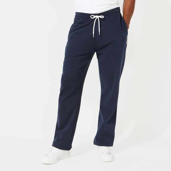 SIGNATURE FLEECE SWEATPANTS - Navy