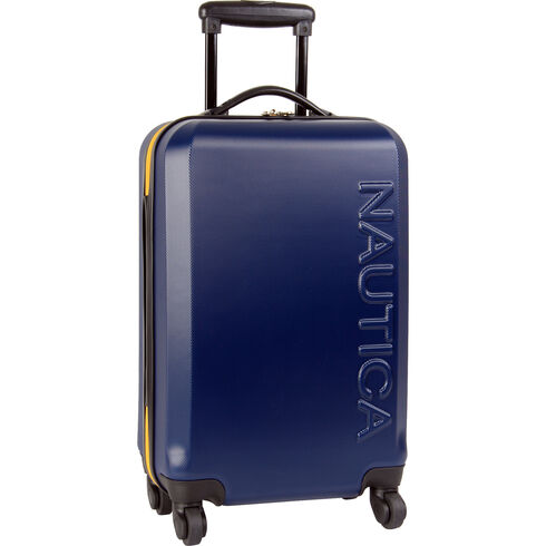 "Ahoy Hardside 20"" Rolling Carry-On Luggage - Navy"