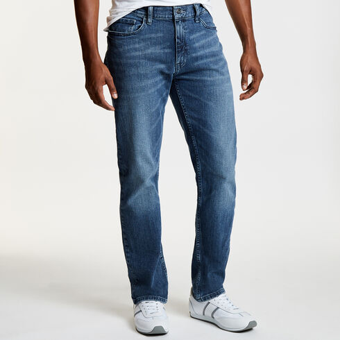 Gulf Stream Wash Straight Leg Jeans - Shore Turq