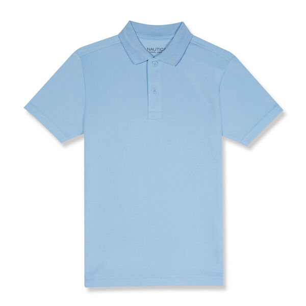 BOYS' PERFORMANCE POLO (8-20) - Turquoise