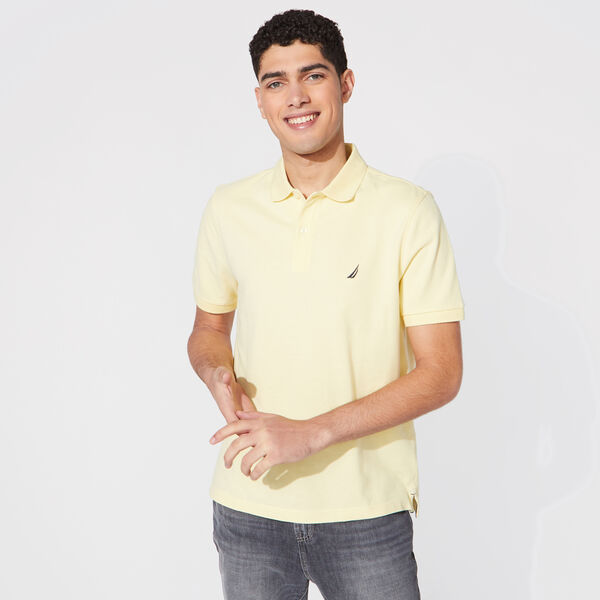 CLASSIC FIT DECK POLO - French Vanilla