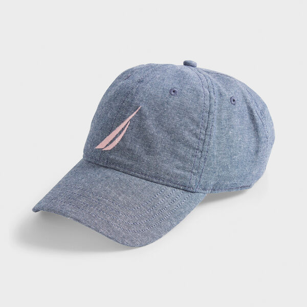 J-CLASS EMBROIDERED CAP - Navy Dusk