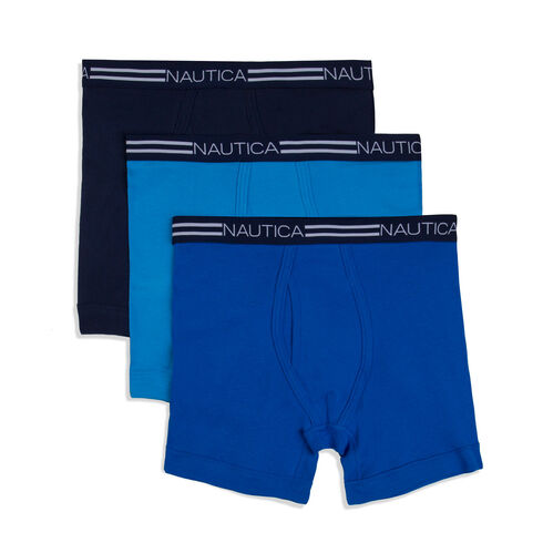 Classic Boxer Briefs, 3-Pack - Navy
