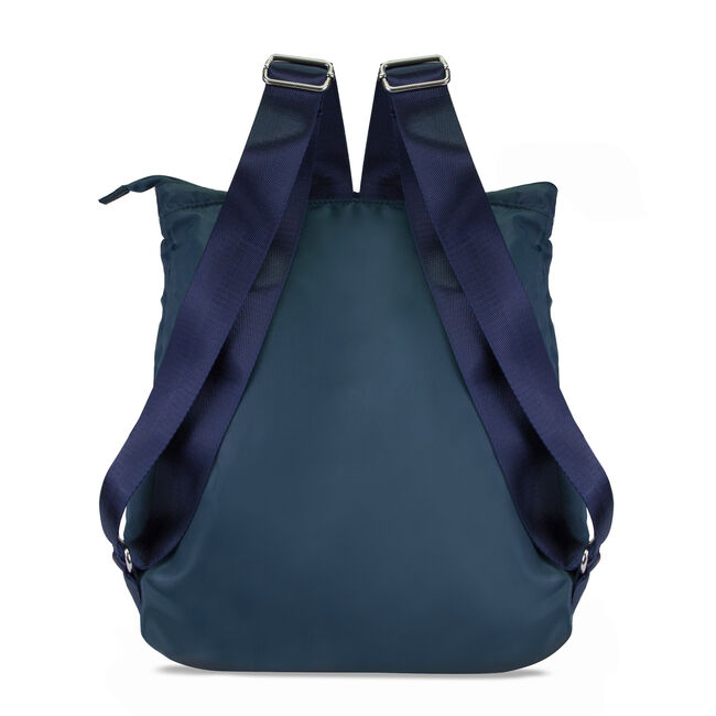 New Tack Logo Packable Backpack,True Navy,large